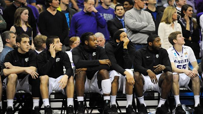 NCAA Basketball: NCAA Tournament-Kansas State vs La Salle