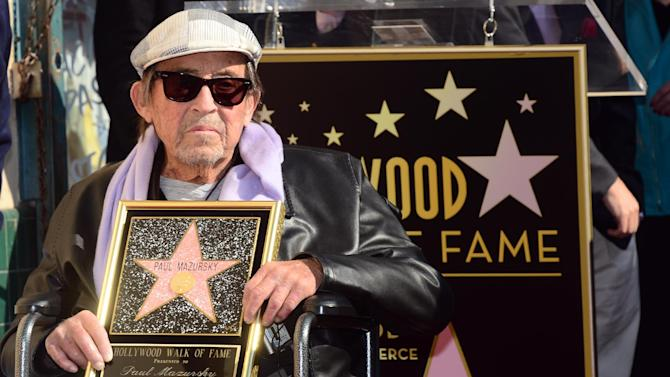US director-writer Paul Mazursky dead at 84