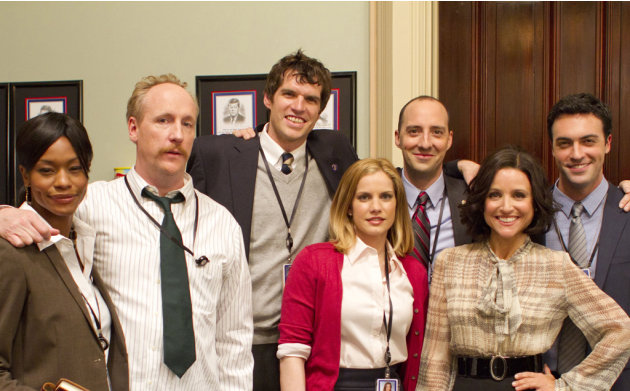 "The cast of ""Veep."""