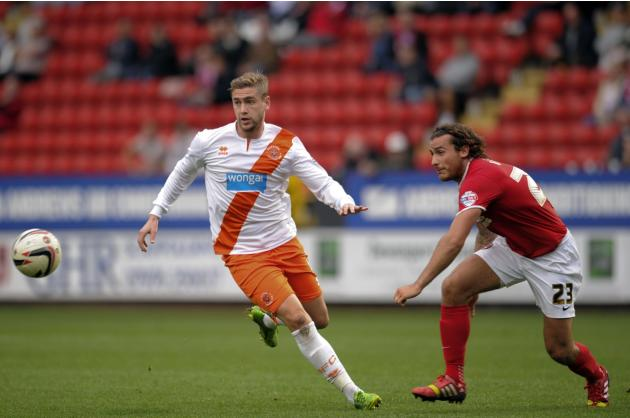 Soccer - Sky Bet Championship - Charlton v Blackpool - The Valley