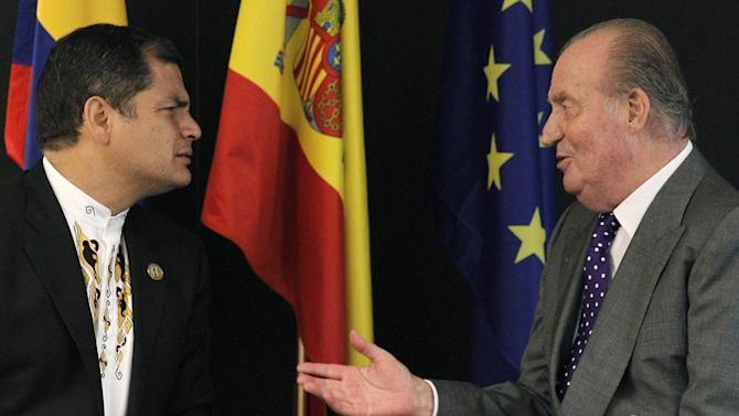 Glum Spain hosts summit for booming Latam nations