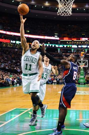 Bayless, Rondo lead Celtics past Hawks 115-104