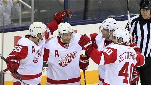 Brunner's shootout goal wins it for Wings, 4-3