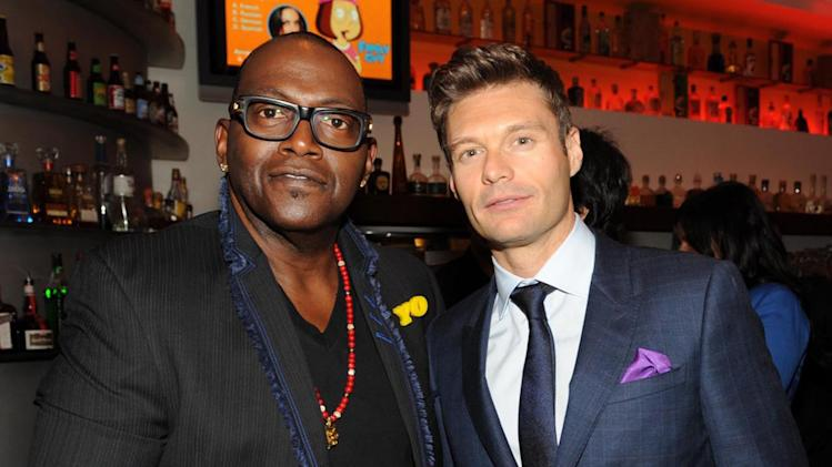 Randy Jackson and Ryan Seacrest