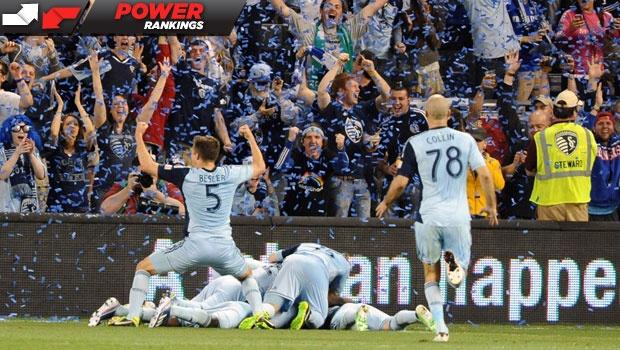 MLS Power Rankings: Sporting KC have it on lockdown as their rise continues
