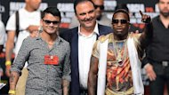Marcos Maidana and Adrien Broner (Reuters)