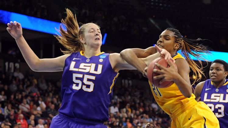 NCAA Womens Basketball: NCAA Tournament-LSU vs California