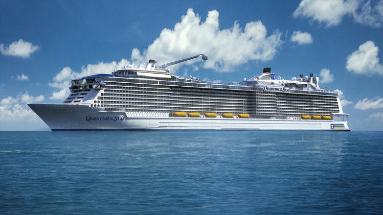 Royal Caribbean's ship Quantum of the Seas