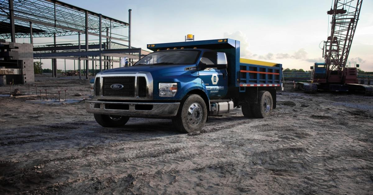 Back To America: Ford Starts Building F-650/750