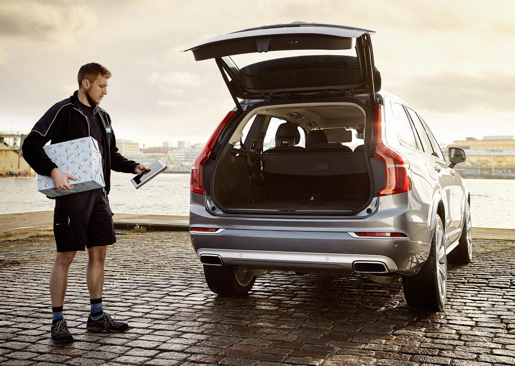 Volvo launches in-car Christmas delivery service