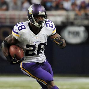 Minnesota Vikings running back Adrian Peterson expected to play Sunday