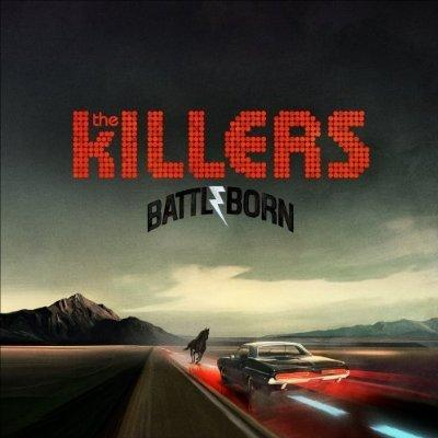 8. The Killers, Battle Born - A horse and a really cool vintage muscle car play chicken in the Southwestern desert! Who will win? Metaphorically, we're not sure. But literally, we're pretty certain th