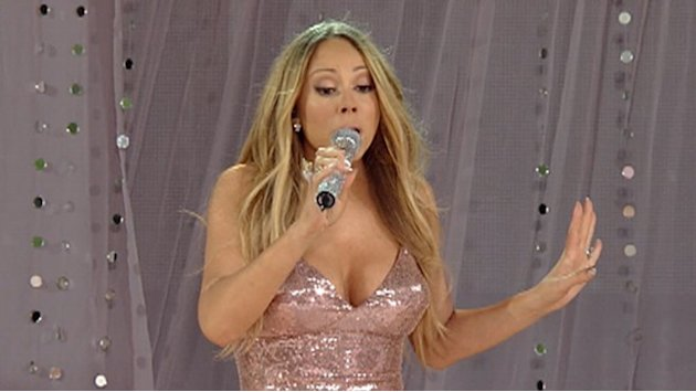 Mariah Carey Laughs Off Wardrobe Snafu