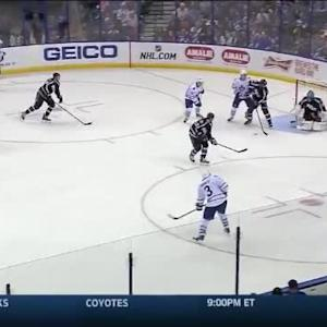 Ben Bishop Save on Dion Phaneuf (13:12/2nd)