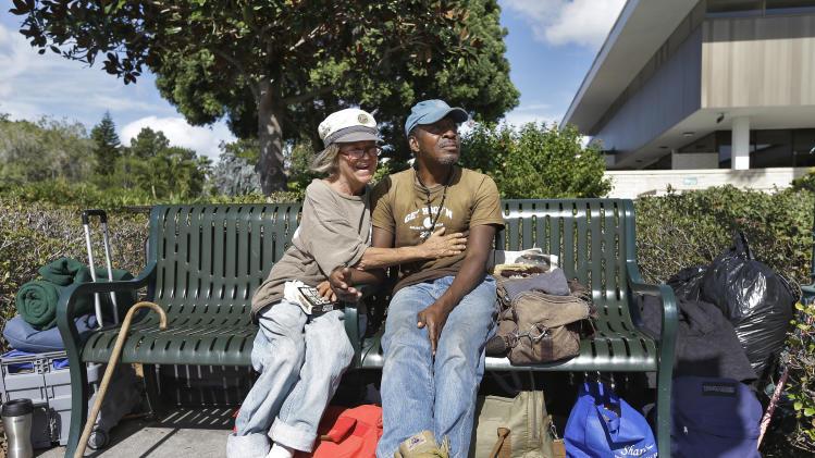 Homeless are a challenge for Sarasota, Fla.