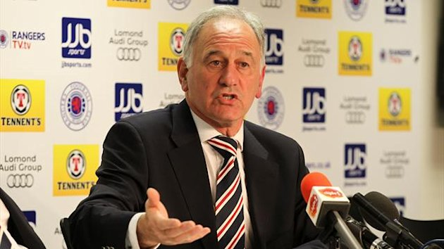 Charles Green insists he is committed to securing Rangers' future