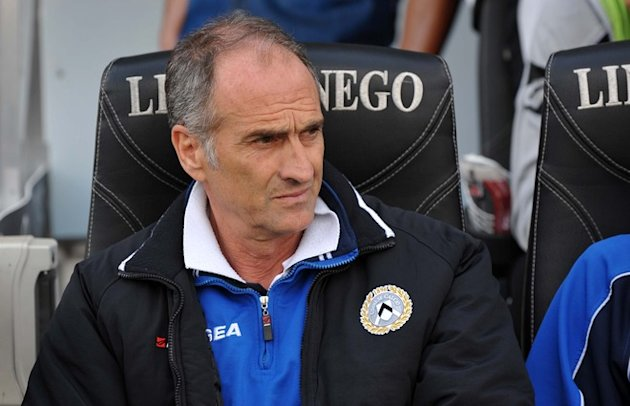 Udinese's Head Coach Francesco Guidolin Takes AFP/Getty Images