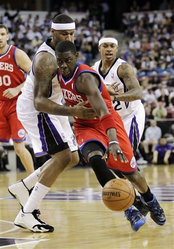 76ers beat Kings 117-103 to end road skid at 15