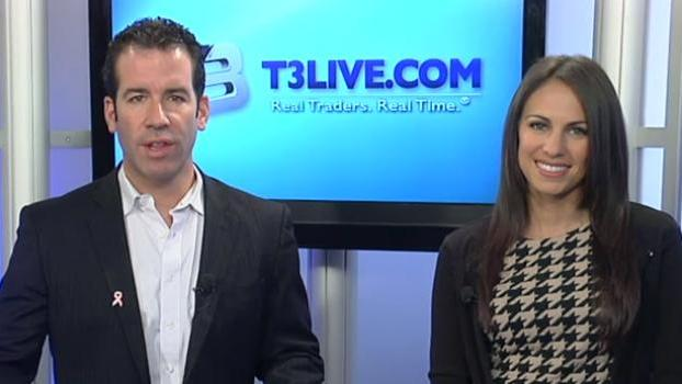 Scott Redler, the Chief Strategic Officer for T3Live.com, and Brittany Umar talk about the state of the market, including the Dow Jones approaching historic highs, the financial and tech sectors, and TBT and TLT of the Bond ETF.     Stocks covered: SPY, XLF, GS, C, BAC, TBT, TLT, GOOG, AAPL