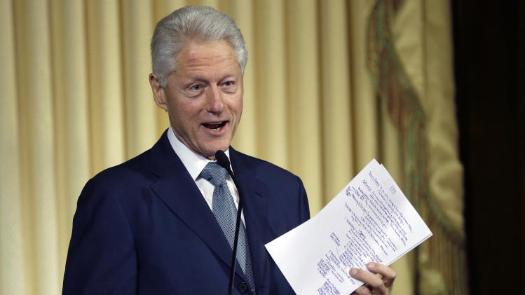 EPA building named for former President Clinton