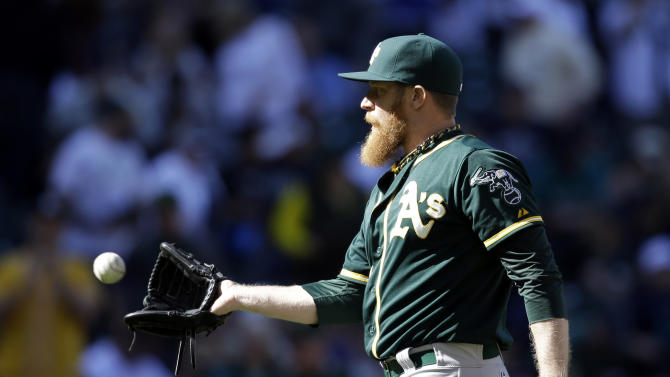 A's lefty reliever Doolittle gets 5-year deal