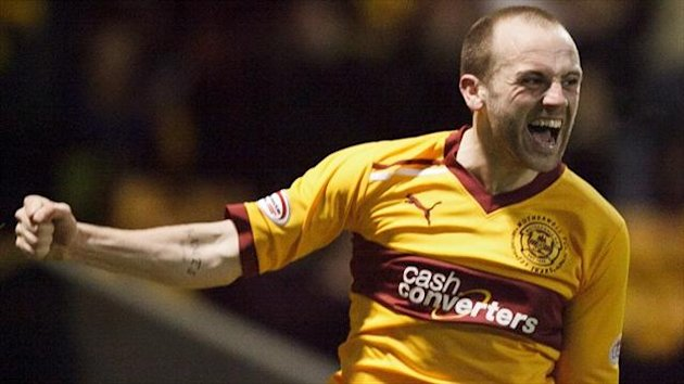 James McFadden has been training with Motherwell in Spain