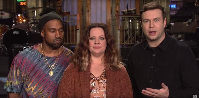 This   SNL Promo Likely Distracted From Kanye West's Creative Process