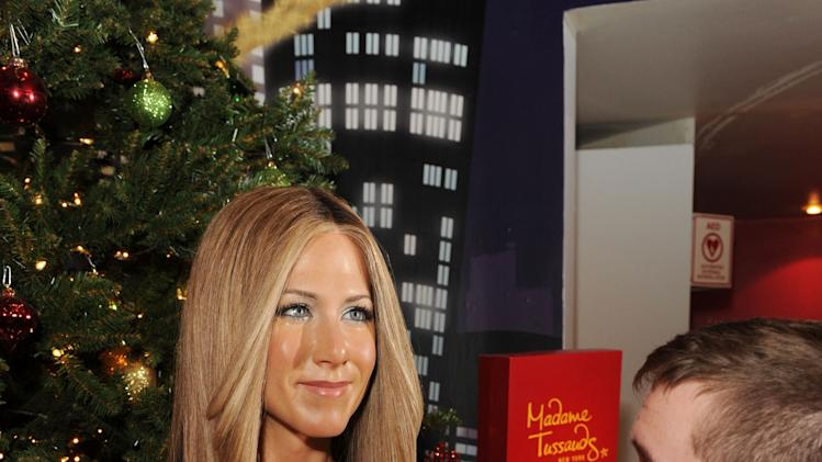Jennifer Aniston Warms Up Winter At Madame Tussausds New York