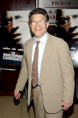 Premiere: Al Franken at the New York premiere of Paramount Pictures' The Manchurian Candidate - 7/19/2004 