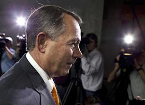 Speaker of the House Rep. John Boehner, R-Ohio, walks …