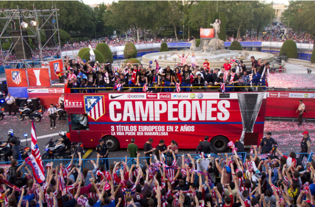 Atletico Madrid's Players AFP/Getty Images