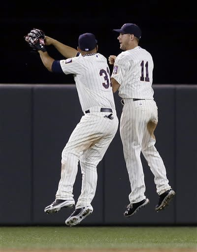 Twins rally for 4-3 win, Phillies' 5th loss in row