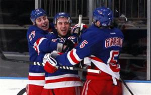 Callahan's 100th goal wins it for Rangers in OT