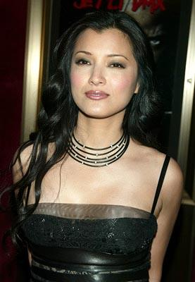 Kelly Hu at the New York premiere of Warner Brothers' Cradle 2 The Grave
