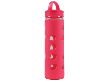 Lorna Jane Glass Water Bottle