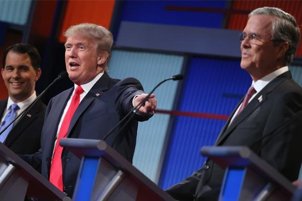 Jeb Bush Stays On the Attack, Blasts Donald Trump for…Being a Germaphobe