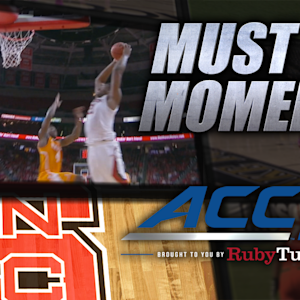 NC State Big Man BeeJay Anya Throws Down Alley-Oop | ACC Must See Moment