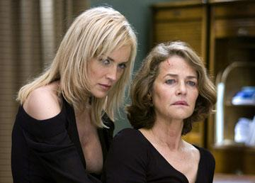 Sharon Stone and Charlotte Rampling in Columbia Pictures' Basic Instinct 2