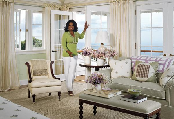 Oprah's Hawaii Farmhouse: The Bedroom