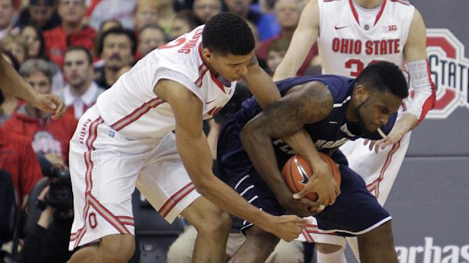 Ross sheds slump, No. 7 Buckeyes romp, 99-64