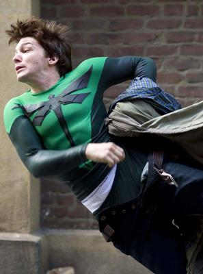 Drake Bell in Dimension Films' Superhero Movie