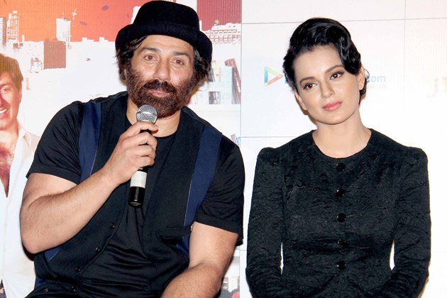 Sunny Deol and Kangna in &amp;#39;I Love New Year&amp;#39;