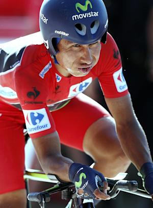 Quintana's hopes of Vuelta win dashed by crash