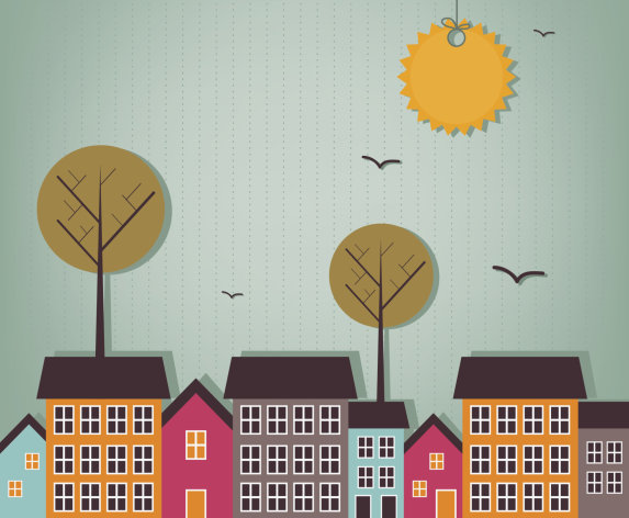 A good climate is helping many cities rebound from the housing bust. Warm locales made up eight of the 10 cities that saw the greatest percentage gains in asking prices. (Illustration credit: Thinkstock)