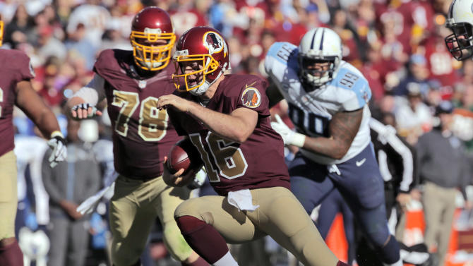 McCoy rallies Redskins to 19-17 win over Titans