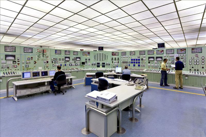 En la imagen, la sala de control de la central nuclear de Santa María de Garoña. EFE/Archivo