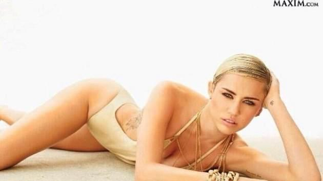 Miley Cyrus, Maxim Hot 100  -- Maxim