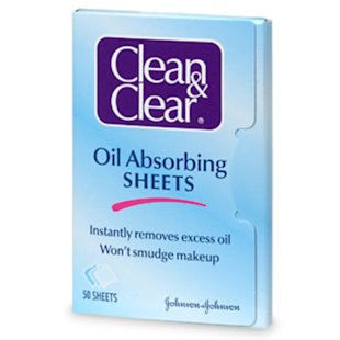 Clean & Clear Oil Absorbing Sheets, $5.49 for 50