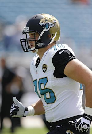 Jaguars rookie OT Luke Joeckel out for season