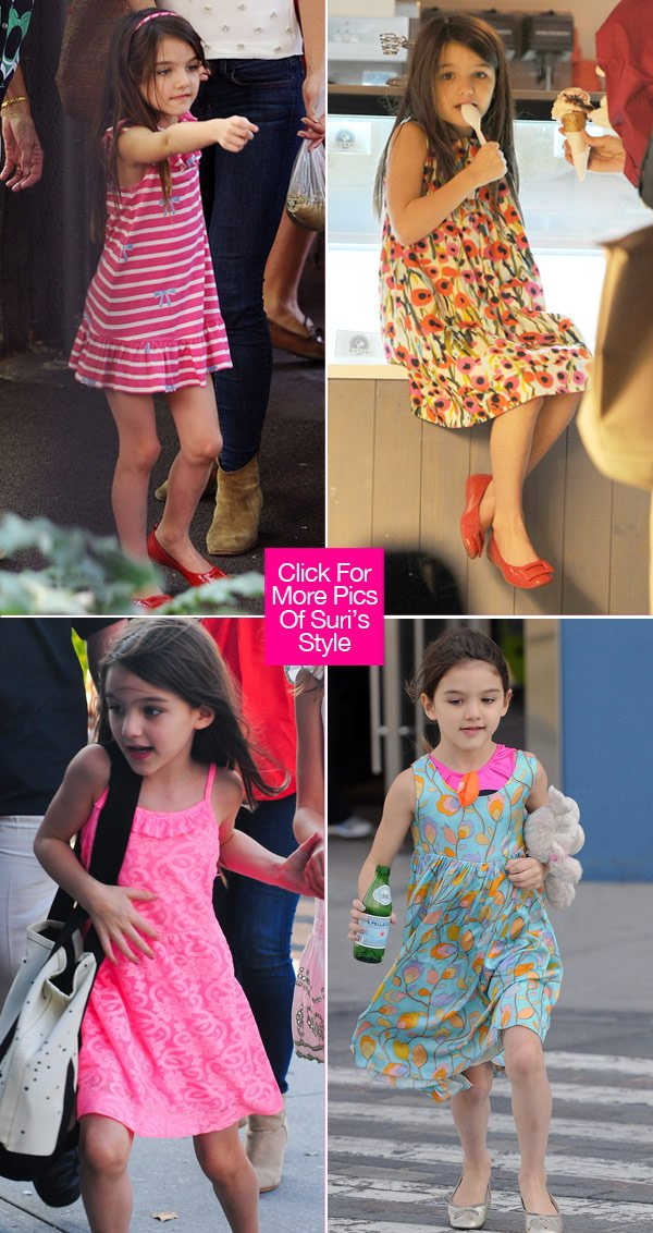 Suri Cruise's Most Fashionable Moments